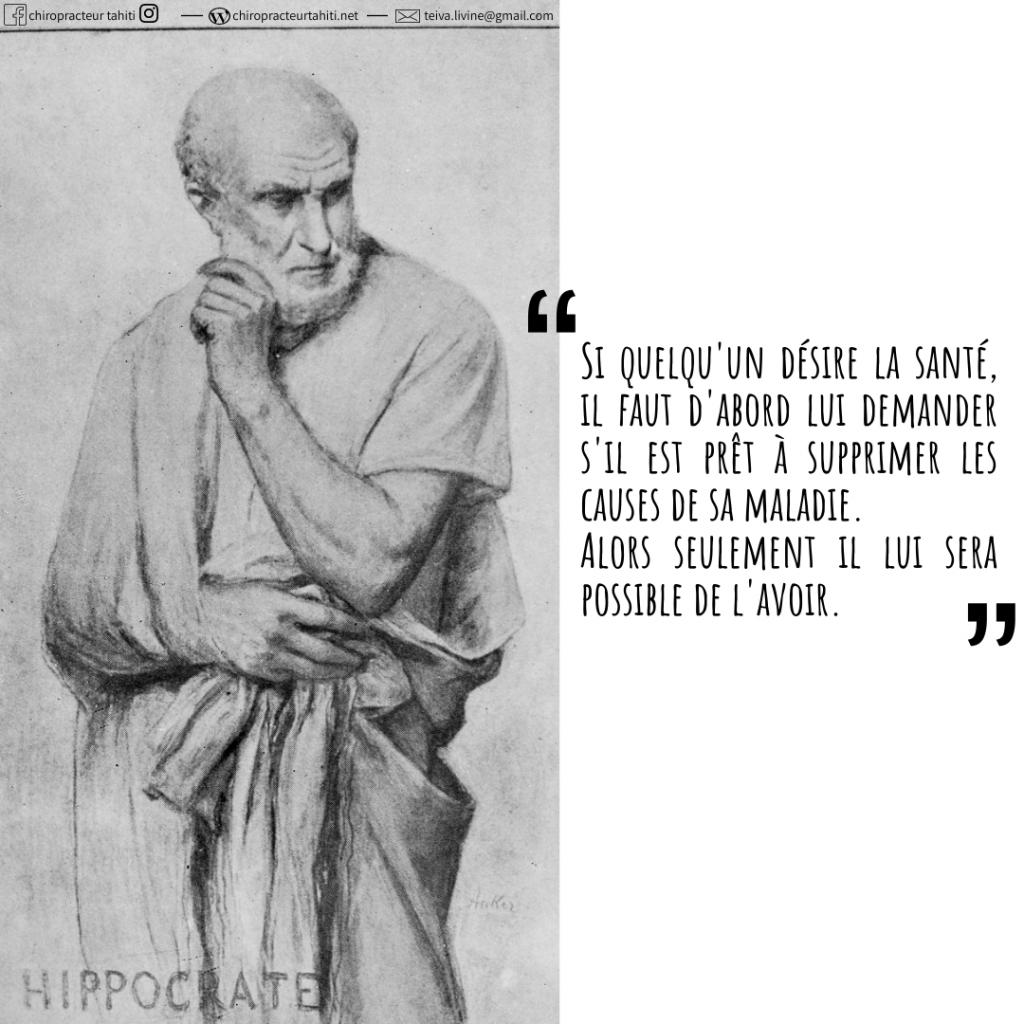 Hippocrate philosophie