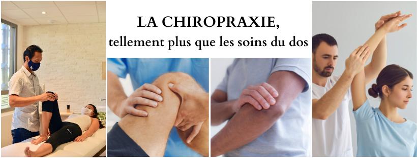 La chiropraxie, tellement plus que les soins du dos